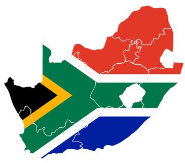 Suedafrika's neun Provinzen