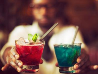 Elemental Fusion in der Asoka Bar in Kapstadt