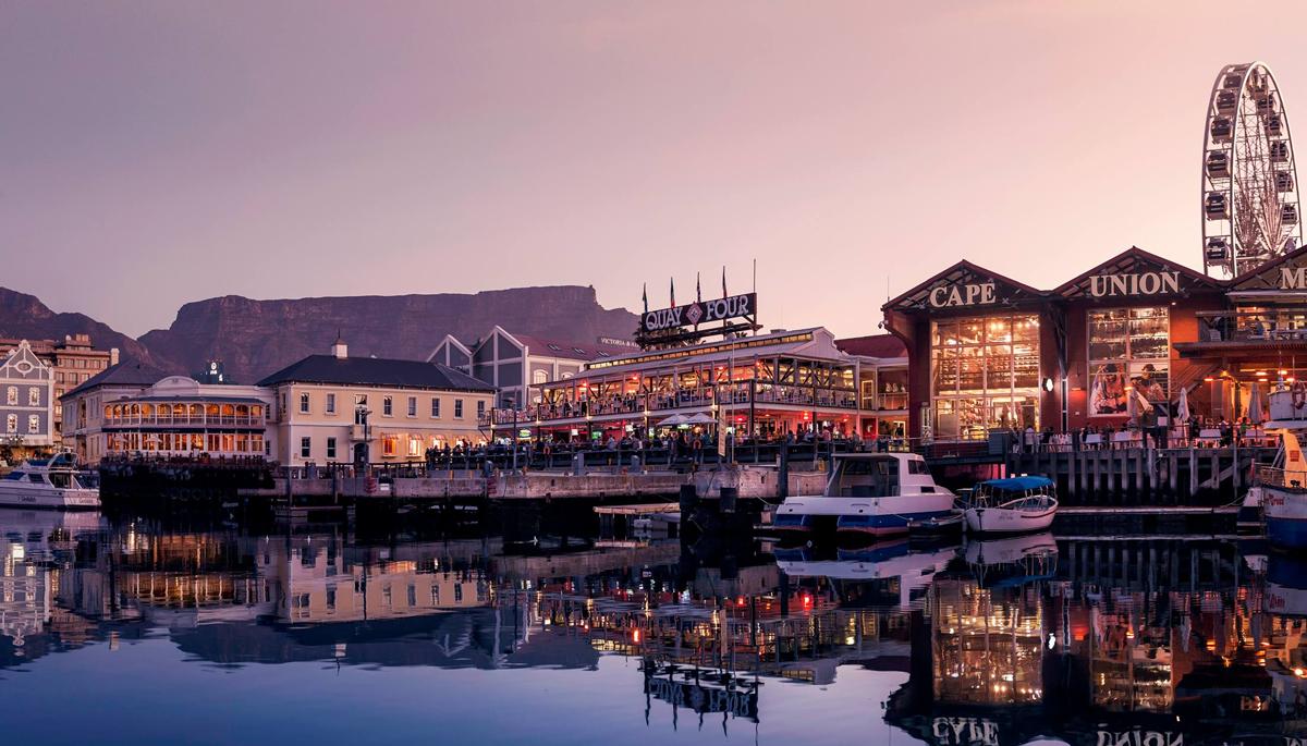 Aktivitaeten Sehenswuerdigkeiten Waterfront Kapstadt