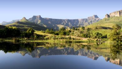 Wandern in entlegenen Winkeln Südafrikas