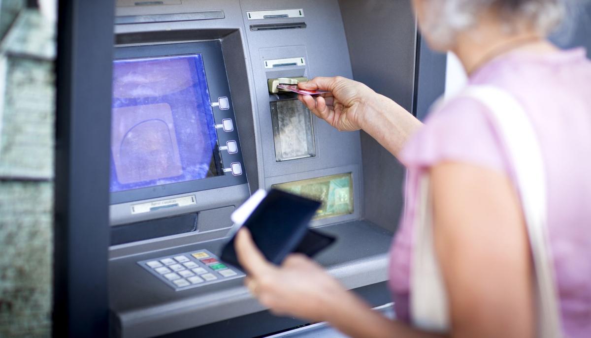 Geld abheben in Südafrika