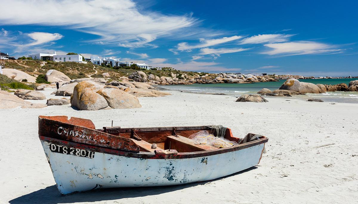 Route 27 in Südafrika - Kontraste an der Küste